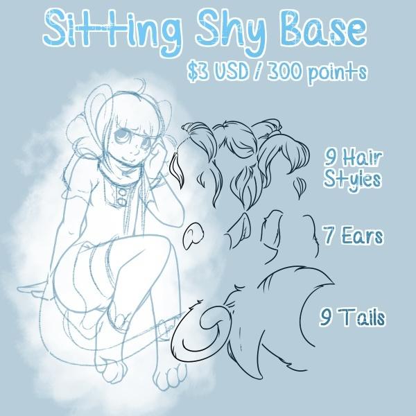 Sitting Shy P2U Base