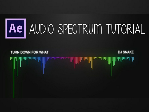 After Effects: Audio Spectrum Tutorial