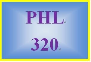 PHL 320 Week 4 Problem Solutions