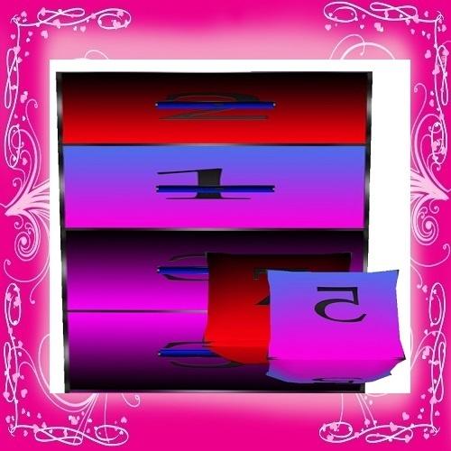 Reflect Dresser w/Pillows Mesh