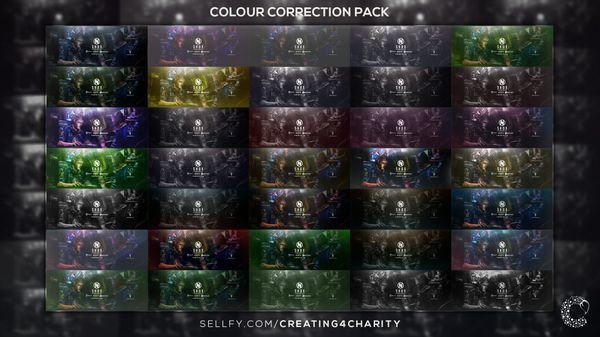 Photoshop Colour Correct Pack #1