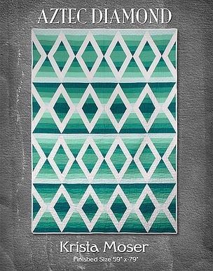 AZTEC DIAMOND PDF DOWNLOADABLE QUILT PATTERN