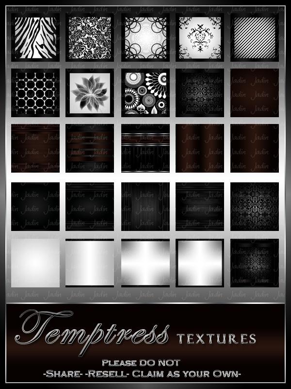 Temptress Texture Pack --- $3.00