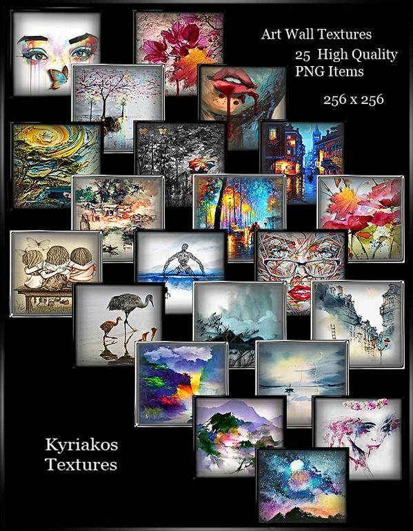 Art Wall Textures Pack