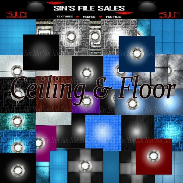 Ceiling & Floor* 39 Textures