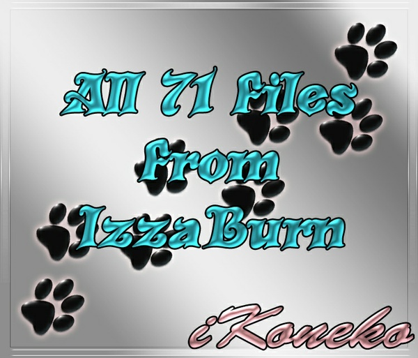 All 71 Files I Got From IzzaBurn