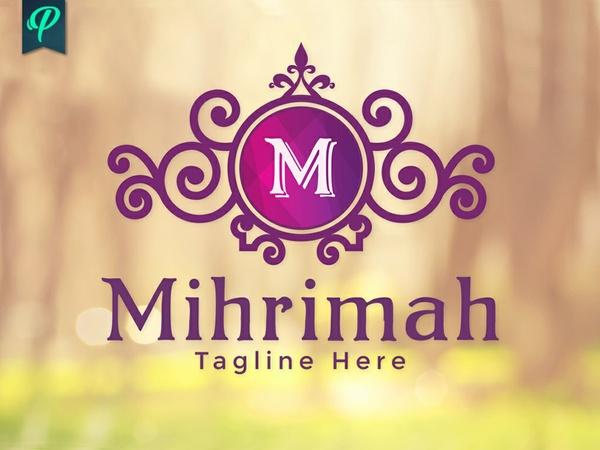 Mihrimah - Stylish Vintage Logo