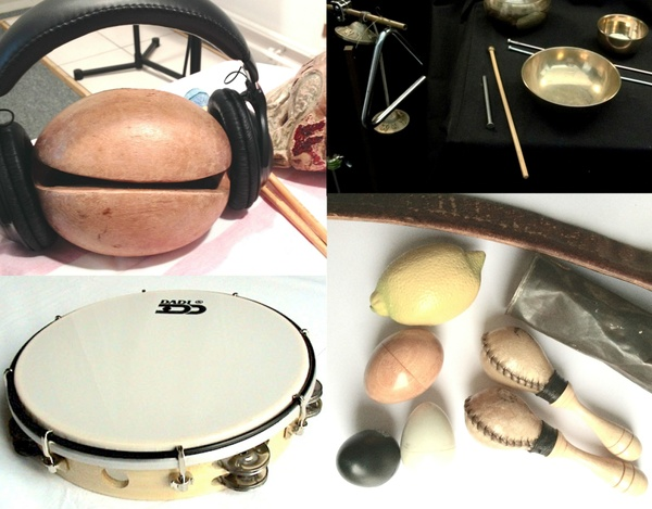 Four sessions - 13 tracks - for hand percussion