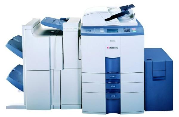 TOSHIBA e-STUDIO 550/650/810 DIGITAL PLAIN PAPER COPIER Service Repair Manual