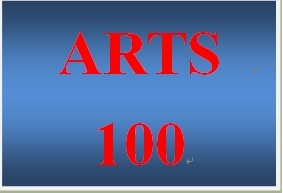 ARTS 100 Week 2 Visual Arts Portfolio
