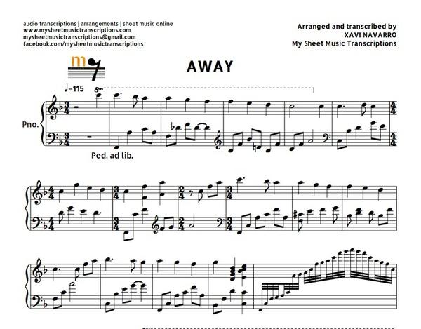 Away in a Manger (Faith Hill) Sheet music (.pdf)