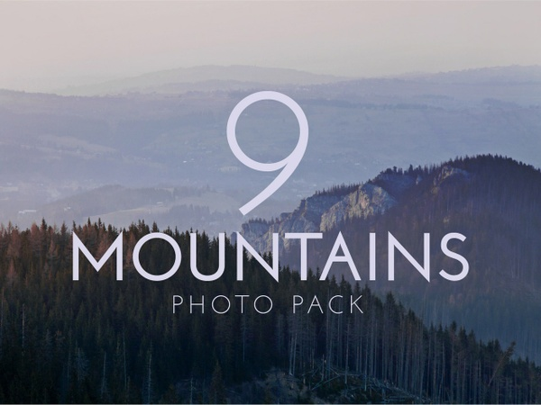 Mountains Photo Pack