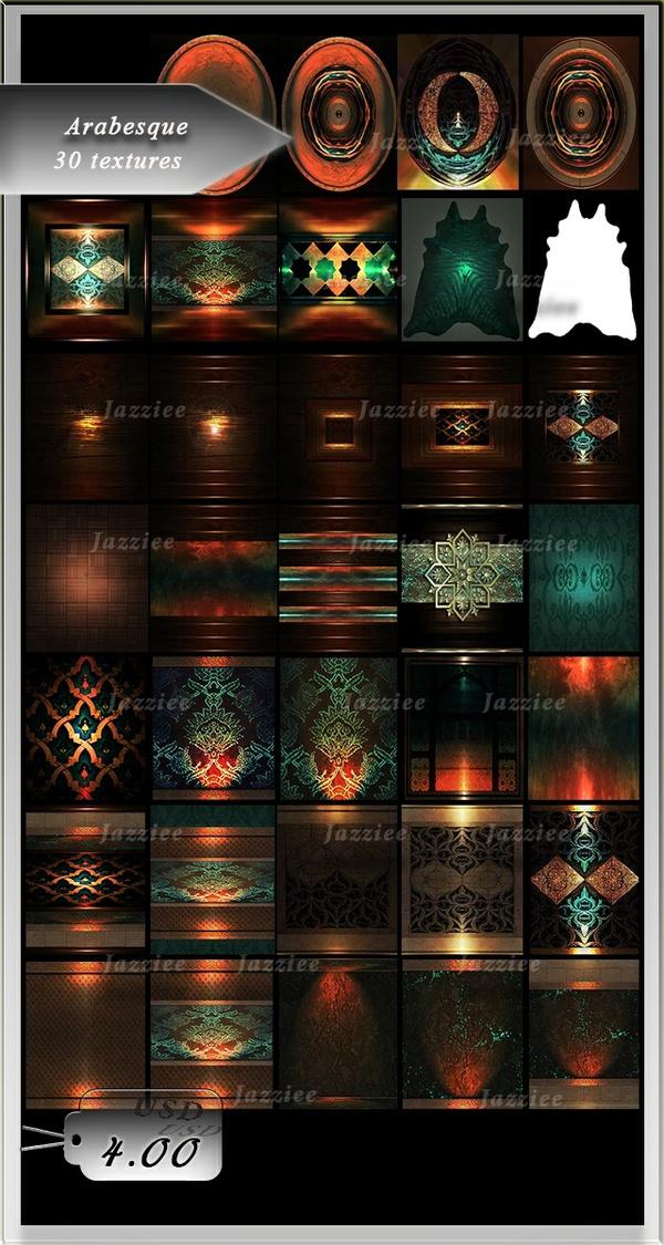 Arabesque-30 Textures