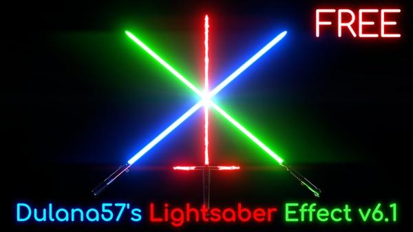 Lightsaber Rig v6.1 [Blender]