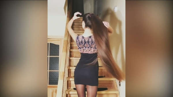 18 Minutes of Viktorija Jukonytė - Amazing Long Hair Collection (2016-2017)