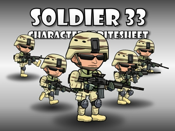 Soldier Character 33