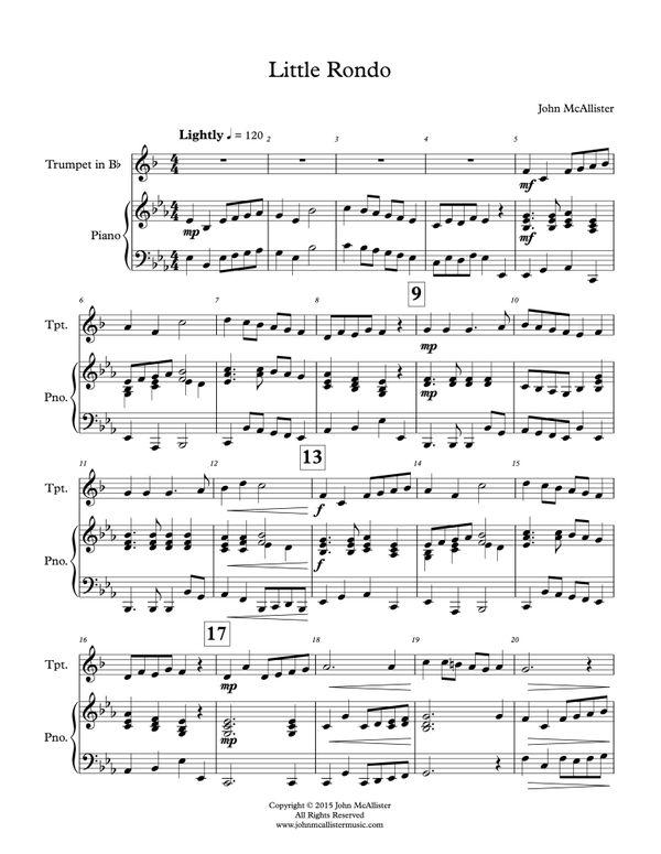 Little Rondo - Trumpet Solo