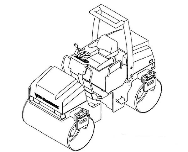 Vibromax 355 365 455 465 Roller Service Repair Manual Download