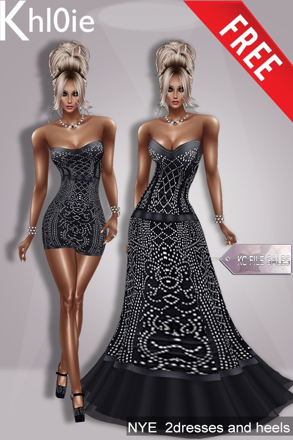 C NYE DRESSES N HEELS MEGA PK ( MUST BE DERV OFF THE MESH IN MY SHOP )