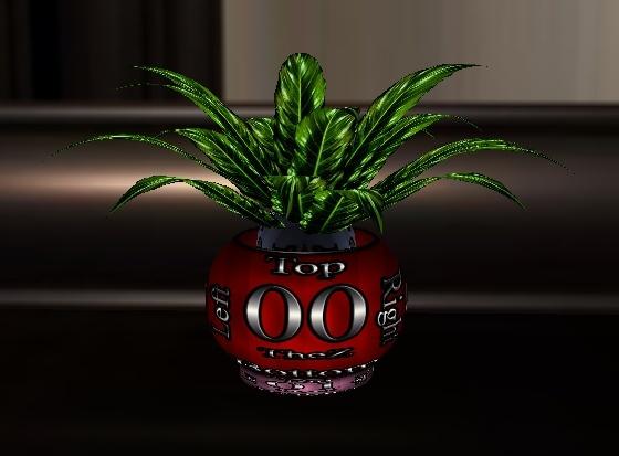 IMVU Potted Plant Mesh