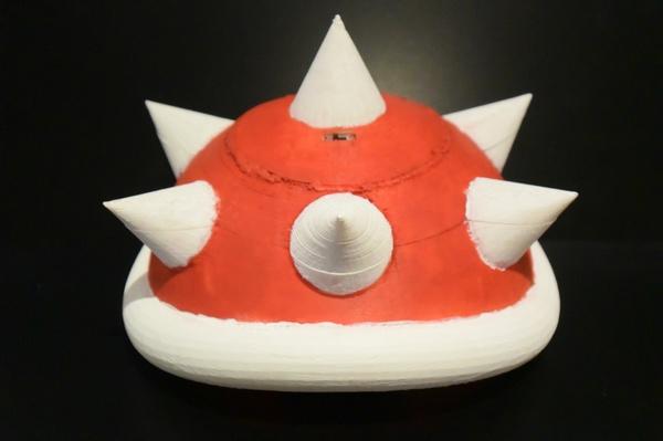 3D Printed Mario Kart Shell