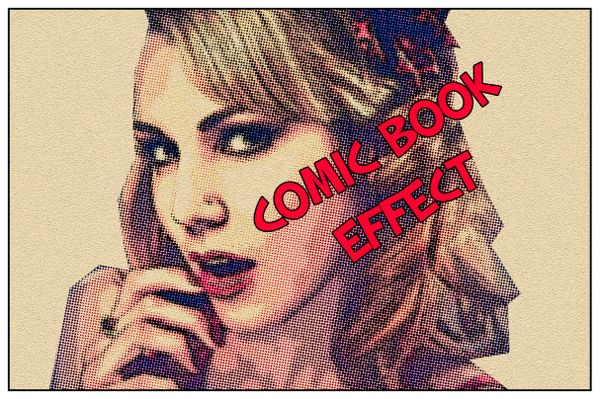 Comic Book Effect: Photoshop Tutorial