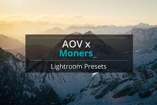 AOV x Moners Lightroom Presets