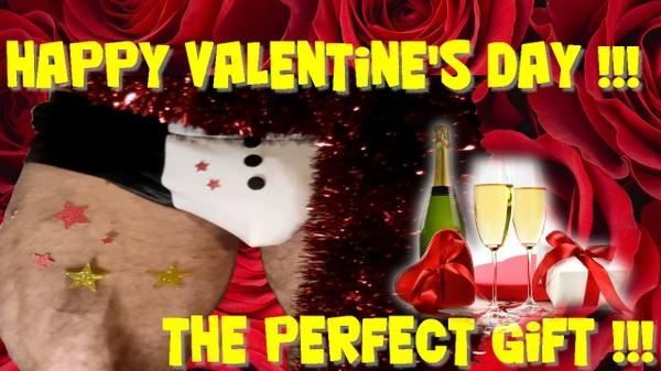 Valentine's day LEGS FLEXING