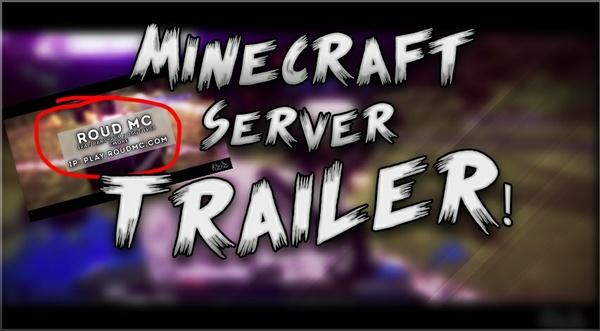 MineCraft Server Trailer!
