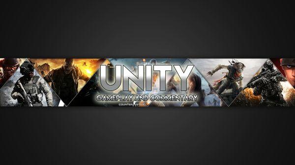 YouTube General Gaming Banner Art