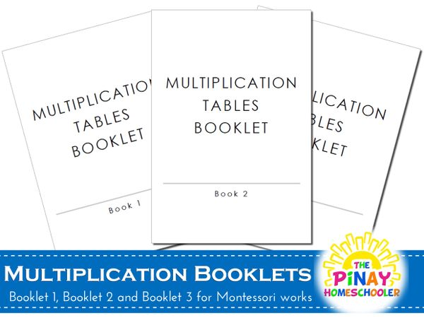 Montessori Multiplication Booklets