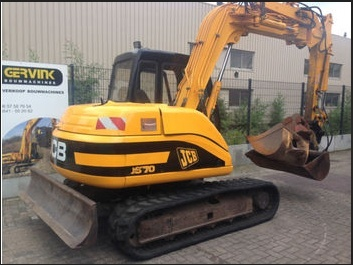 JCB JS70 Tracked Excavator Service Repair Workshop Manual DOWNLOAD