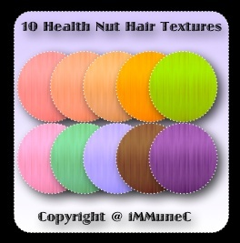 10 Health Nut Hair Textures With Resell Rights