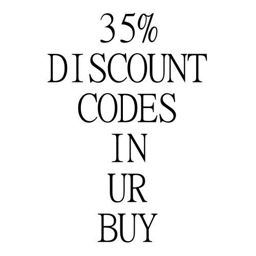 35% DISCOUNT CODE