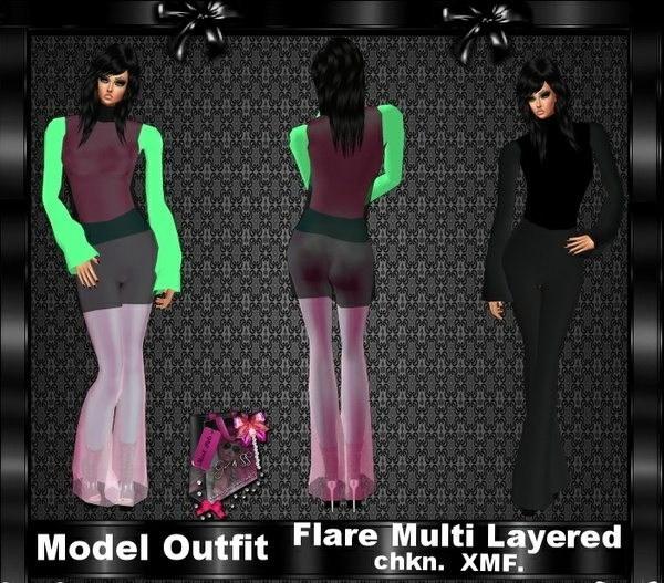 Model Outfit Mesh