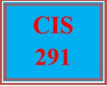 CIS 291 Week 1 Individual: Create a Resource Guide