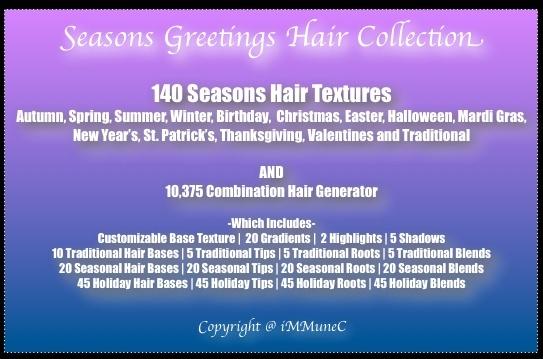 10,375 Seasons Greetings Hair Generator