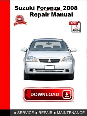 Suzuki Forenza 2008 Repair Manual