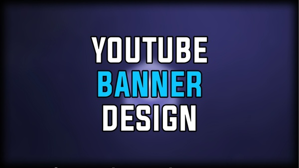 Youtube Banner Design + Free Logo