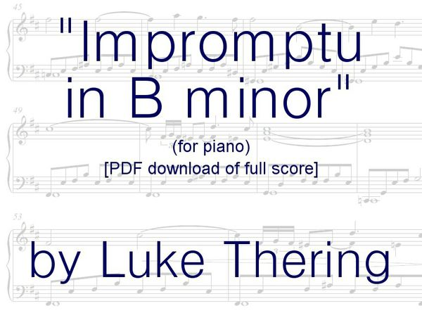 Impromptu in B minor (SHEET MUSIC .PDF)