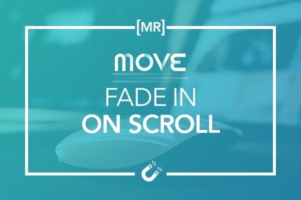 Fade In On Scroll