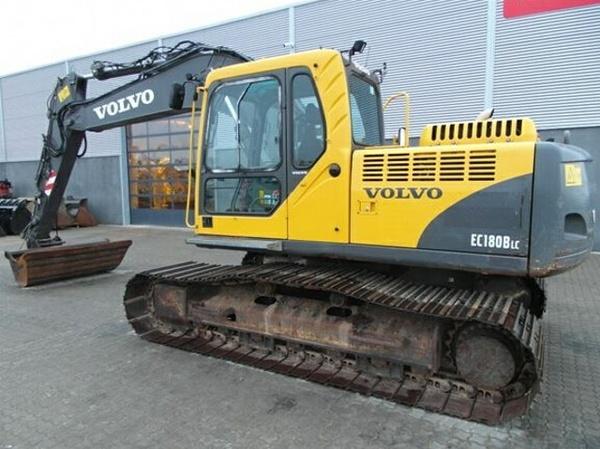 VOLVO EC180B LC EC180BLC EXCAVATOR SERVICE REPAIR MANUAL - DOWNLOAD