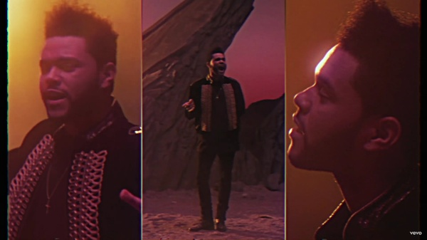 FREE 4K  RGB-Bars From I Feel It Coming By The Weeknd