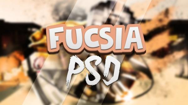 Banner Fucsia PSD