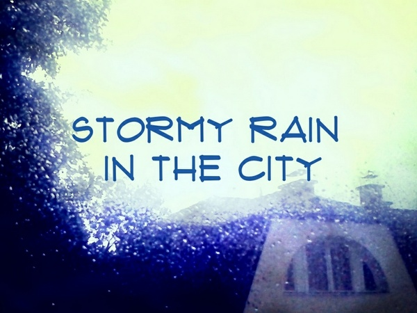 Stormy Rain in the City Sound Pack 01