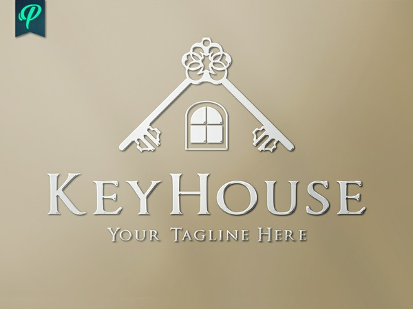 KeyHouse - Real Estate Logo Template