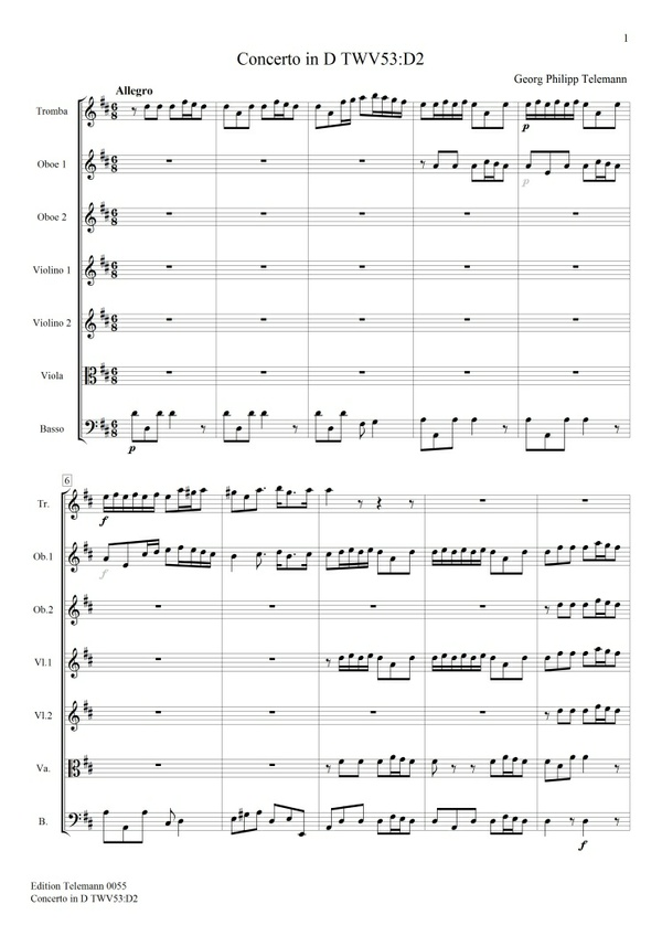 0055 Concerto in D