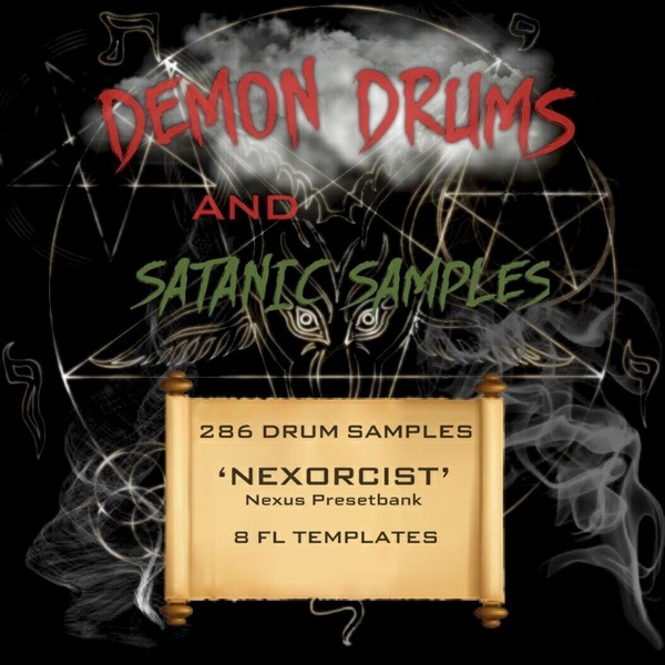 Demon Drums & Satanic Samples MEGA KIT