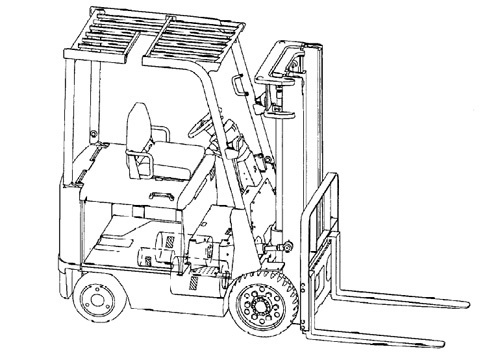 Mitsubishi 2FBC15 - 2FBC30 Forklift Trucks Service Repair Manual Download