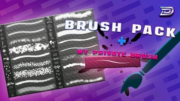 [LITTLE] Brush Pack + My PRIVATE Brush (+TUTORIAL)